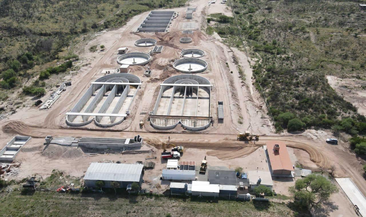 Sistema de Tratamiento de Efluentes Cloacales Mina Clavero y Cura Brochero | Paschini Construcciones