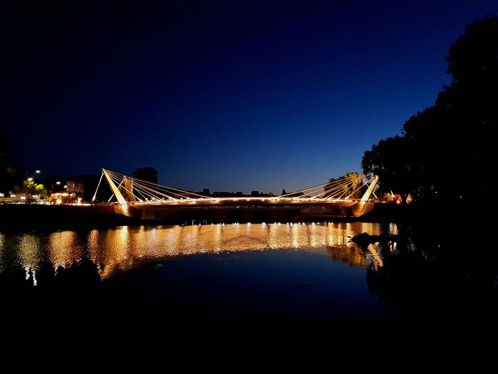 Puente Peatonal Sobre Río San Antonio | Paschini Construcciones