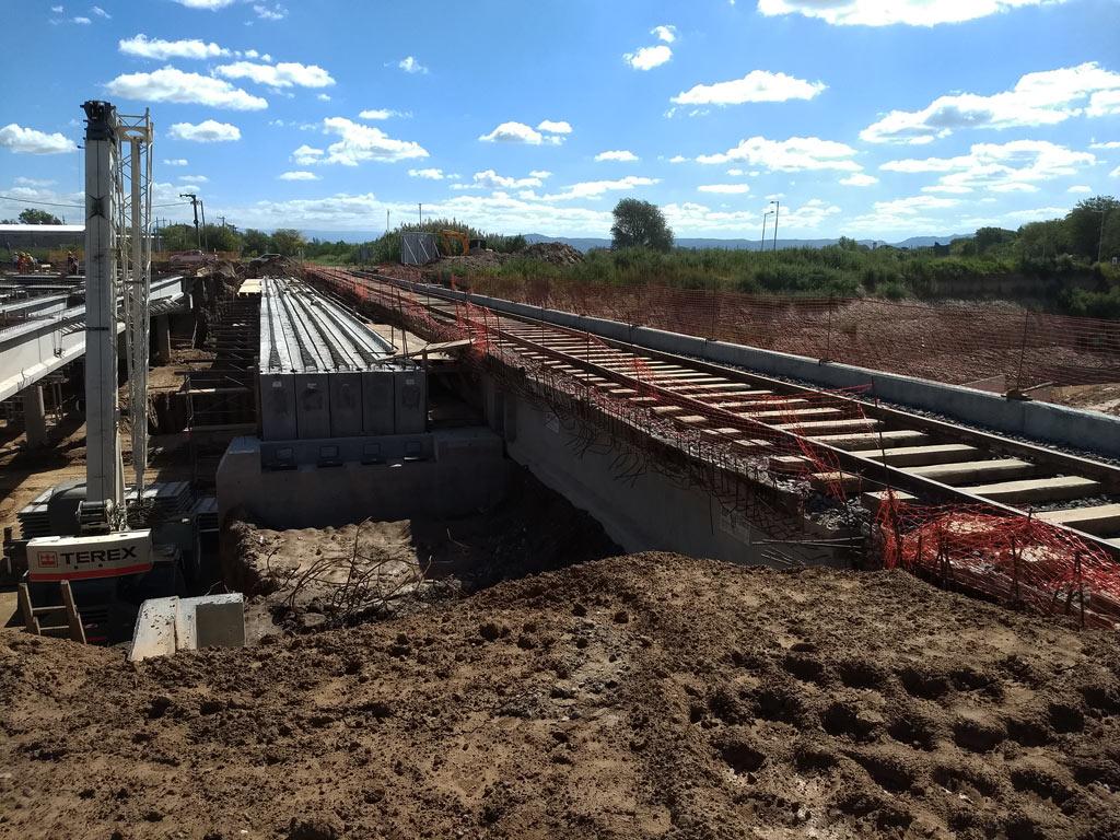Puente Ferroviario Av. Circunvalación | Paschini Construcciones